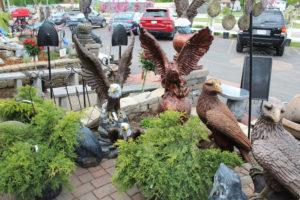 garden statues, cement lawn ornaments