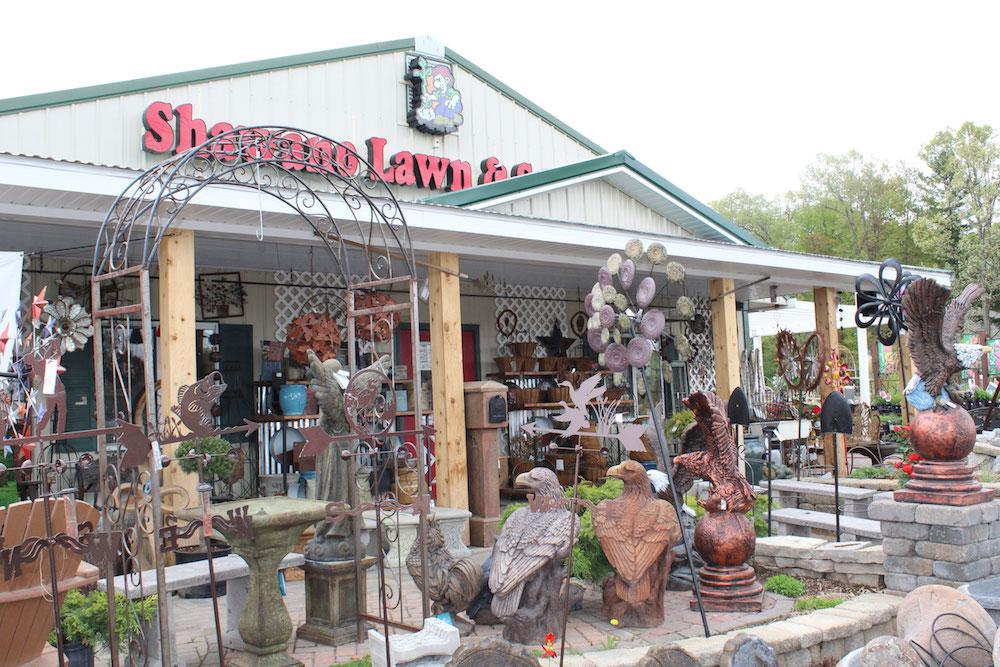 Shawano Lawn and Stone Nursery gardening store in shawano