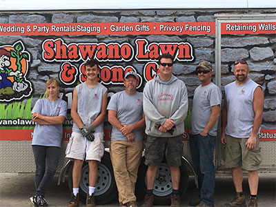 Shawano Lawn and Stone Team