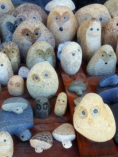 Stone Animals for landscaping inspiration